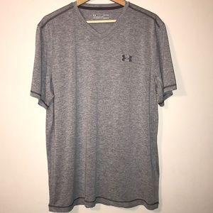 Men's Under Armour Heatgear V-Neck T-Shirt
